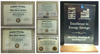 Overview of various service awards our company has earned over the years.